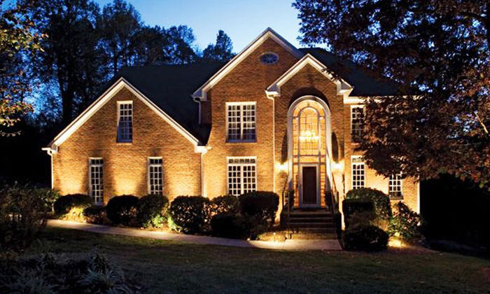 outdoor lighting types