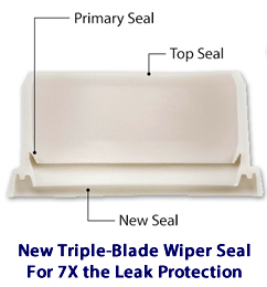 Rain Bird Triple Blade Wiper Seal